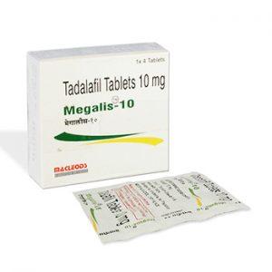 Buy Megalis 10 mg online