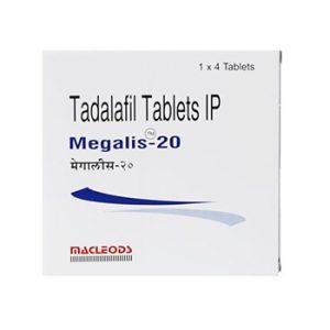 Buy Megalis 20 mg online