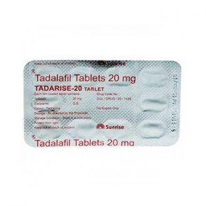 Buy Tadarise 20 mg online