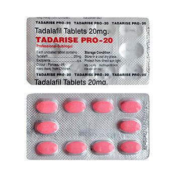 Tadalista professional 20 mg x 200