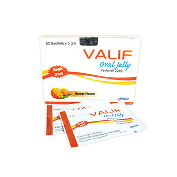 Buy online Valif Oral Jelly 20mg legal steroid