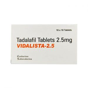 Buy Vidalista 2.5 mg online