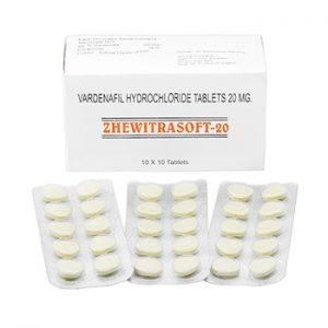 Buy Zhewitrasoft 20 mg online